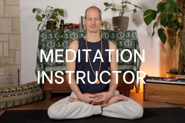 Venkatesha Zaremba meditiert