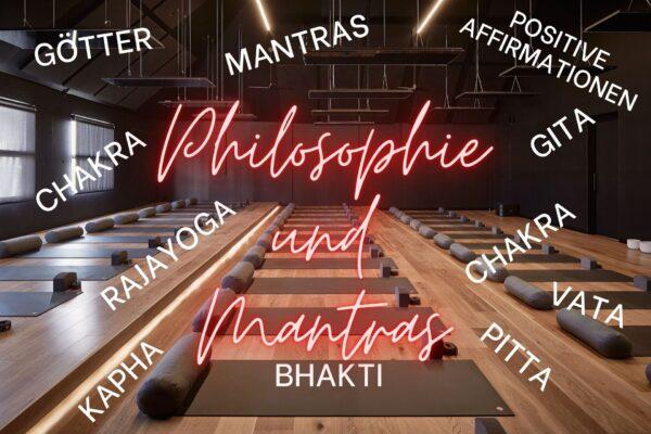 Philosophie und Mantras